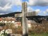 Križ na marinskom groblju