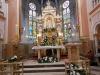 Oltar u crkvi u Mariji Bistrici