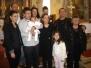 Kršteno troje djece na Mali Uskrs