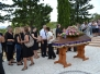 Pogreb naše župljanke Mile Jakus