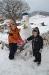 Dica sa snješkom