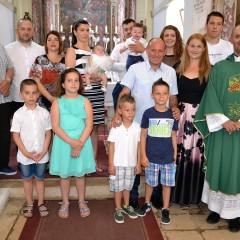 Kršteni Jakov Rinčić i Mihaela Radić