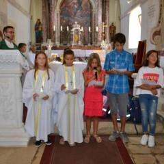 Zaziv Duha Svetoga na početku školske godine