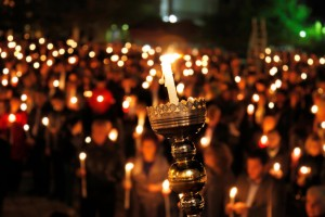 easter candle vigil