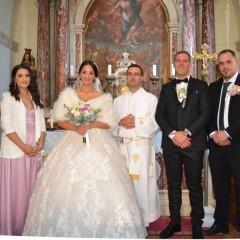 Vjenčani Marin Lekaj i Elizabeta Markljušaj