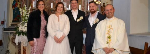 Vjenčali se Željana Pereža i Josip Hokman