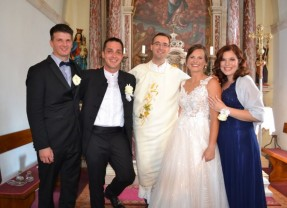 Vjenčali se Nives Jakus i Petar Parađina